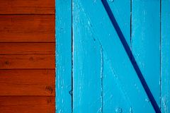 Wand und Tür Stockfotos