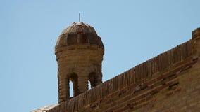 Wand und Turm-Ausblick stock video