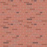 Wand-Vektormuster-Innengraphik des roten Backsteins lizenzfreie abbildung