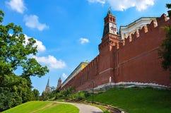 Wand vom Kreml Stockfotografie