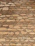 Wand von Alcazaba Stockbild