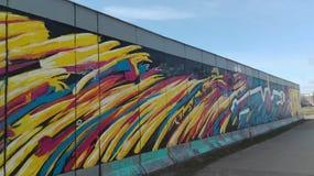 Wand von Berlin Lizenzfreies Stockbild