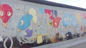 Wand von Berlin Stockfotos