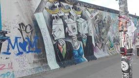 Wand von Berlin Lizenzfreies Stockfoto