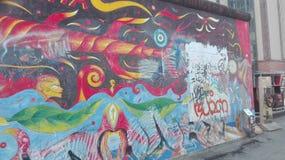 Wand von Berlin Lizenzfreie Stockbilder