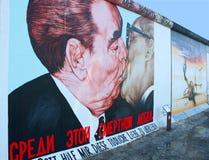 Wand von Berlin stockfotografie