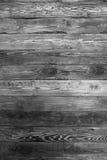 Wand von Brettern mit Nägeln Zweige, Wandbeschaffenheit Stockfotografie