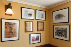 Wand von Butch Cassidy Lizenzfreies Stockfoto