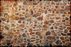 Wand von den Granitsteinen Lizenzfreie Stockfotos