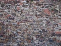 Wand von eine alte Bastion Lizenzfreies Stockfoto