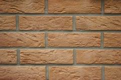 Wand von einem Ziegelstein Lizenzfreie Stockfotos