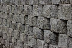 Wand von Flusssteinen Lizenzfreies Stockbild
