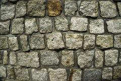 Wand von granitestones Stockbild