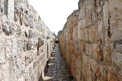 Wand von Jersalem Stockfotografie