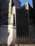 Wand von Philippe Auguste in Paris stockfotos