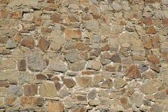 Wand von Steinen Beschaffenheit Lizenzfreies Stockfoto