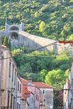 Wand von Ston, Kroatien lizenzfreies stockfoto