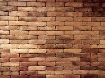 Wand von Ziegelsteinen Stockbild
