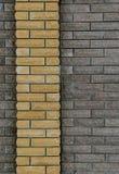 Wand von Ziegelsteinen, Hintergrund von Ziegelsteinen Lizenzfreie Stockfotografie