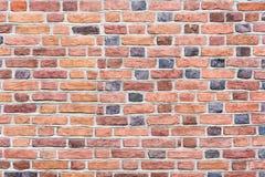 Wand von Ziegelsteinen, von unterschiedlicher Größe und von Farbziegelsteinen Lizenzfreie Stockfotos