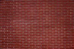 Wand-Vorlage des roten Backsteins Stockfotografie
