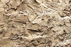 Wand-Zement-Hintergrund-Beschaffenheiten Schließen Sie herauf Beschaffenheit des einfarbigen prägeartigen Gipses auf der Wand stockfotografie