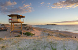Wanda Lifeguard Tower in summer Royalty Free Stock Photography
