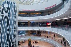 Wanda Plaza interior at Han street Stock Photos