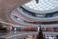 Wanda Plaza interior at Han street Royalty Free Stock Photos