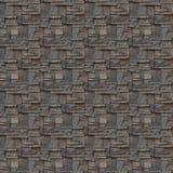 Wandbeschaffenheit des nahtlosen Musters der Ziegelsteine Stockfotografie