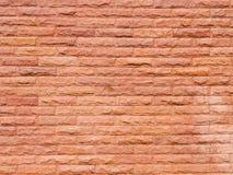 Wandbeschaffenheit des roten Sandsteins Lizenzfreie Stockfotos