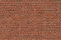 Wandbeschaffenheit des Weinleseroten backsteins, alte Wand des roten Backsteins Stockfoto
