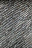 Wandbeschaffenheit mit diagonalen rechteckigen Steinen lizenzfreie stockfotos