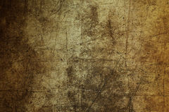 Wandbeschaffenheits-Zusammenfassungsschmutz des Hintergrundes brauner ruiniert verkratzt Stockfotografie