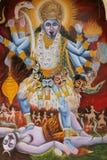 Wandbild des hinduistischen Gottes stockfotografie