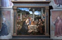 Wandbild in Florenz lizenzfreie stockfotos