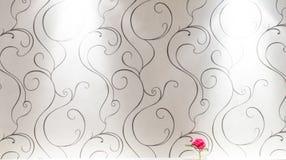 Wanddekoration mit leicht- Beschaffenheitshintergrund Stockbild