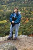 Wandelaar Acension stock foto
