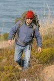 Wandelaar/bergbeklimmer Stock Afbeelding