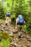 Wandelaars Stock Foto