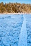 Wandelaarweg stock afbeelding