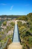 Wandelend aan hemels rotsvooruitzicht, blauwe bergen, Australië 6 royalty-vrije stock afbeeldingen