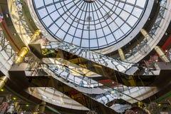 Wandelgalerij in het bedrijfsdeel van Kazan Royalty-vrije Stock Foto