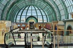Wandelgalerij van de Emiraten Doubai Stock Foto