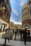 Wandelgalerij in Venetiaans Macao Royalty-vrije Stock Afbeeldingen