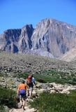 Wandeling in Colorado Royalty-vrije Stock Foto