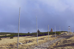 Wandeling in de Reuzebergen Royalty-vrije Stock Foto