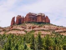 Wandeling in een mooie Sedona Arizona de V.S. royalty-vrije stock afbeelding