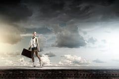 Wandeling het reizen Royalty-vrije Stock Afbeelding