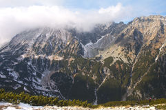 Wandeling in Poolse Tatra Stock Foto